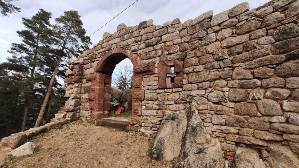 Le portail restauré du Kagenfels