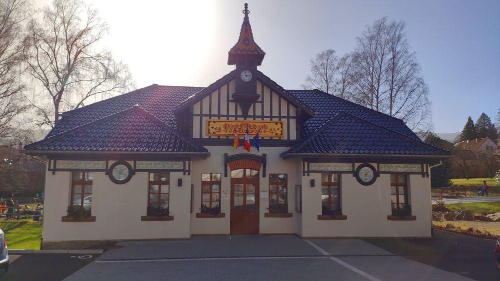 La mairie du Hohwald