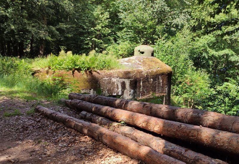 Un blockhaus de la ligne Maginot